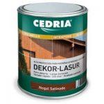 Barniz lasur al agua Cedria 4 litros madera exterior interior barato baratos barata baratas comprar precio precios oferta ofertas
